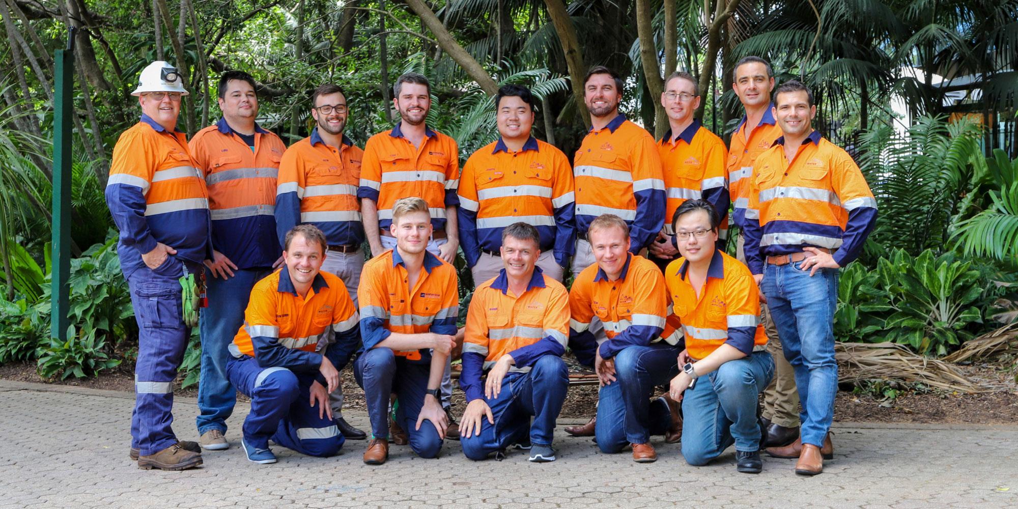 Waterline's site-experienced team