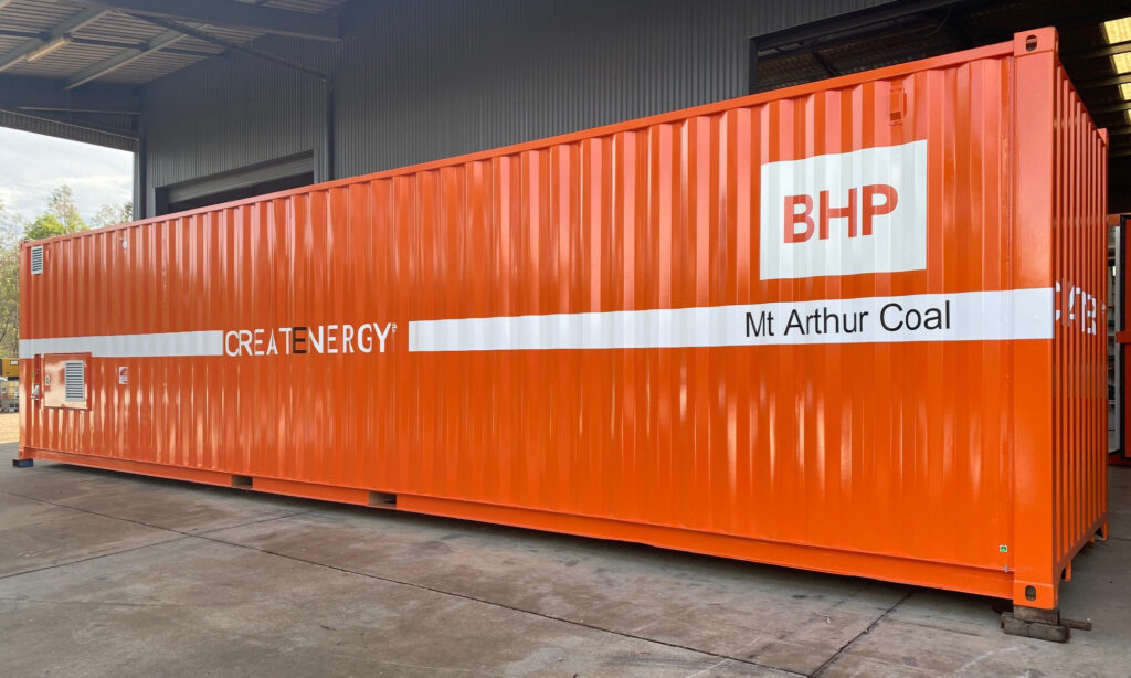 CreatEnergy environmentally friendly containerised waste oil solution