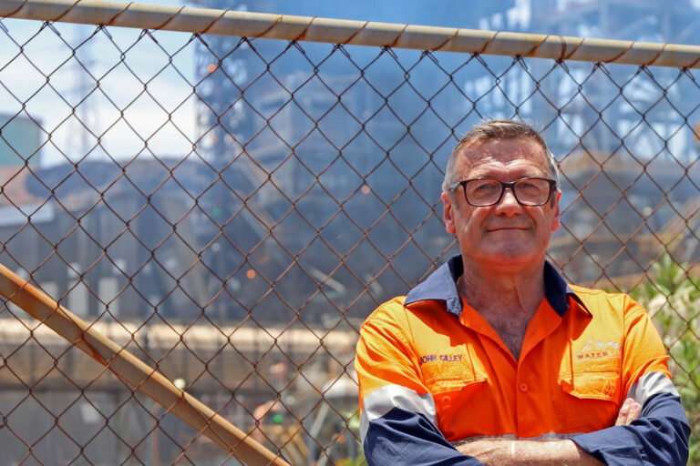 Waterline Civil + Structural team lead John Gilley