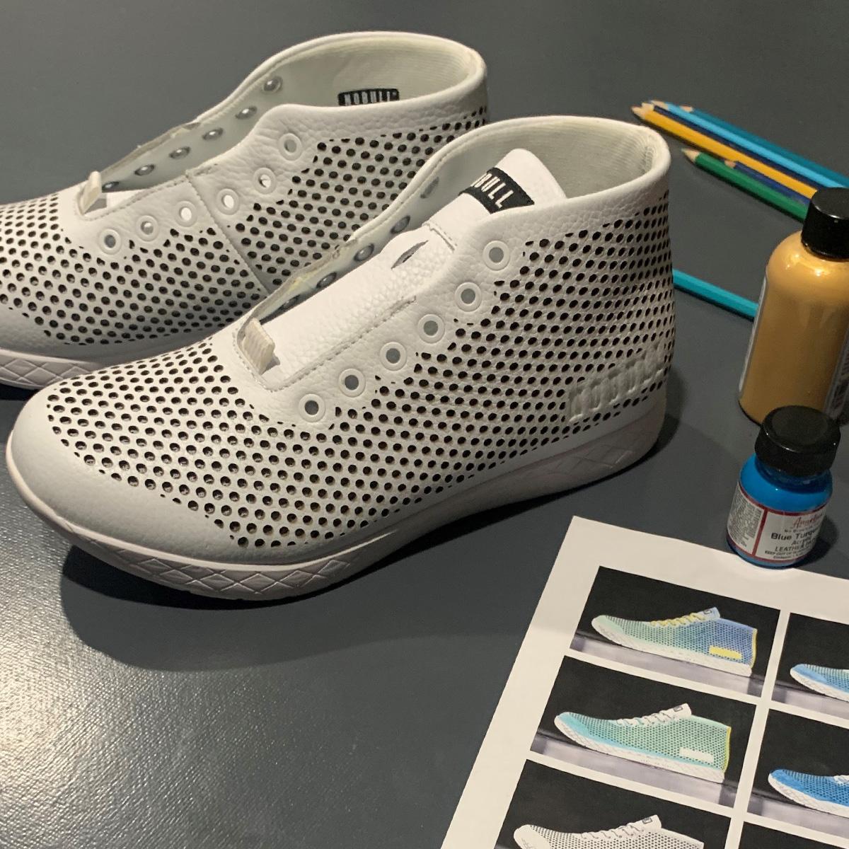 Sneakers before